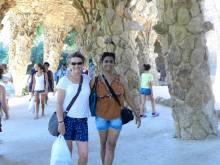 Mary & me at Gaudi