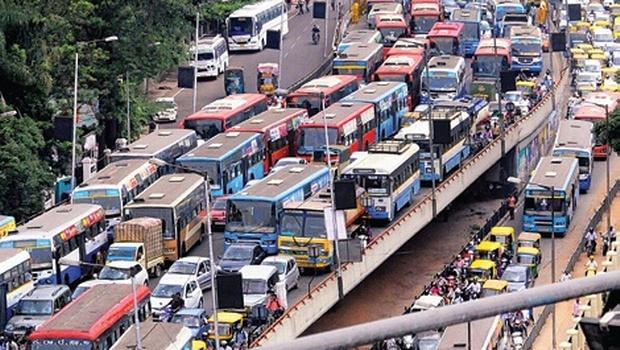 Traffic bangalore